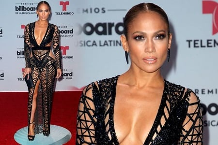 Jennifer Lopez appeared in a hot outfit at Billboard Latin Music Awards: Steals the show