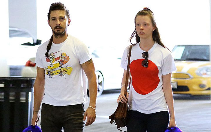 Shia LaBeouf is married to Mia Goth, the wedding was pretty unusual. Here's how