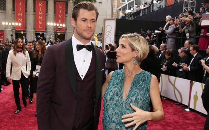 Some of Chris Hemsworth and Elsa Pataky's cutest moment since their marriage