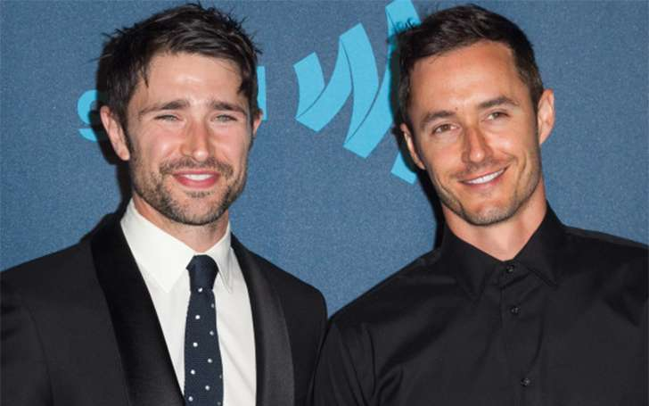 Is Matt Dallas happy in his marriage? He is married to Blue Hamilton.