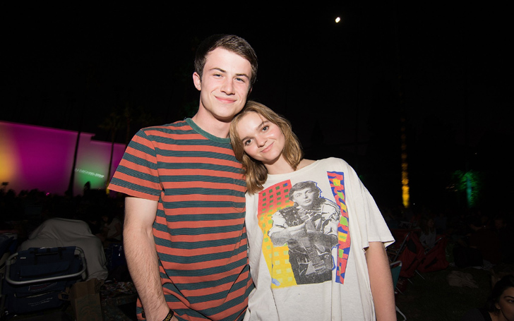 On Screen Brother And Sister Dylan Minnette And Kerris Dorsey Are Off Screen Love Birds