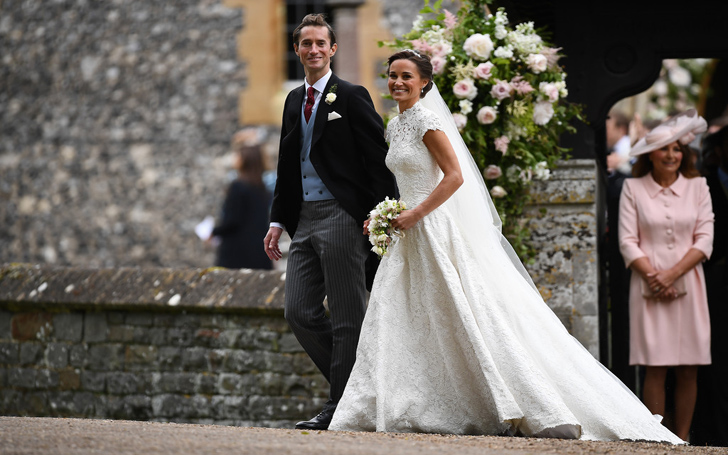from donna air to roger federer some pictures of guests who attended pippa middletons wedding