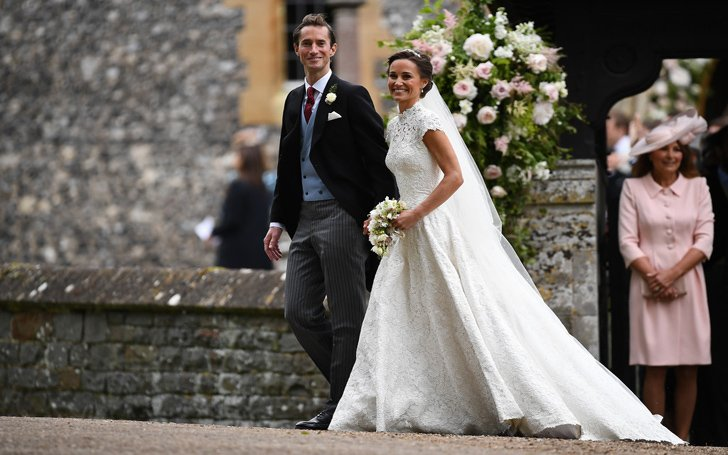 From Donna Air to Roger Federer. Some Pictures of Guests Who Attended Pippa Middleton's Wedding