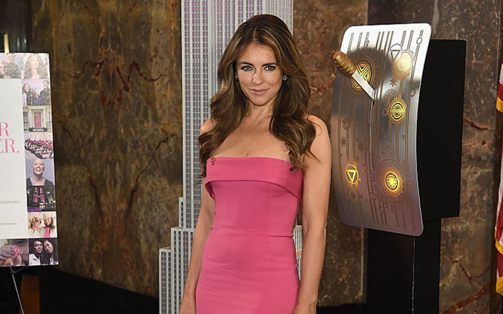 The kind of man Elizabeth Hurley Wants to date!