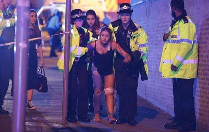 Explosion at Ariana Grande concert in England killed 19 people. A terror attack?