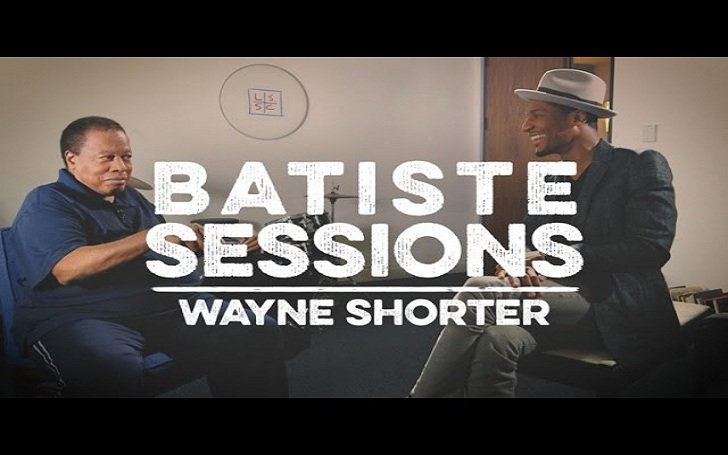 Late Show bandleader Jon Batiste interviews Jazz legend Wayne Shorter. Shares wisdom of Miles Davis