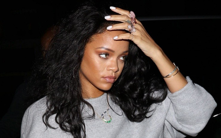 The Guy Who Was Arrested outside Rihanna's NYC Crib Is Back on the Street of New York