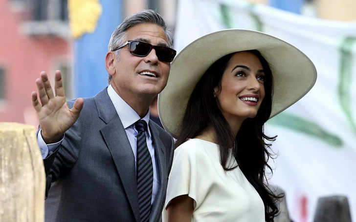 Amal Clooney and George Are Proud Parents of Twins