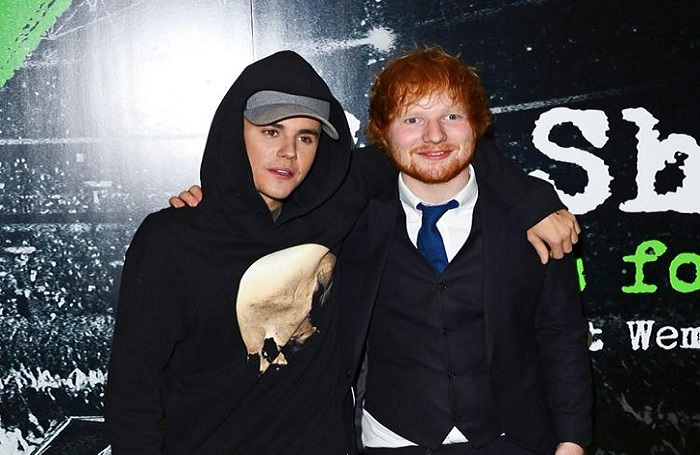 Ed Sheeran Tells How Justin Beiber  Got Him to Hit a Golf Ball Off of His  Mouth while Drunk!
