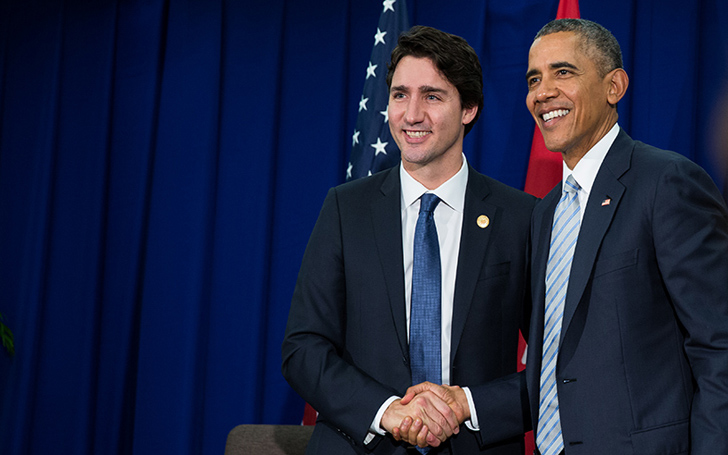 Barack Obama and Canadian Prime Minister Justin Trudeau Recently Had Dinner Together