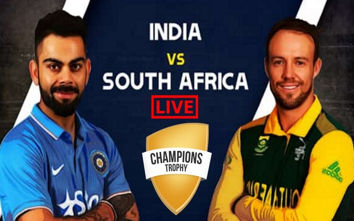 ICC Champions Trophy 2017: India Vs South Africa WATCH LIVE