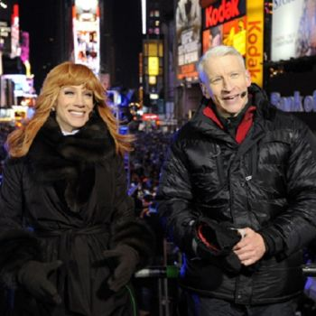 Anderson Cooper Addresses Kathy Griffin's Trump Photo: