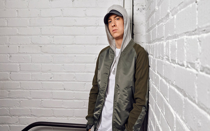 Eminem Spotted With Beard on the Premiere of �The Defiant Ones�