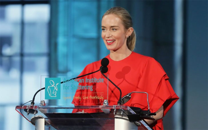 Actress Emily Blunt Hosting 11th Annual American Institute For Stuttering Know about her Career