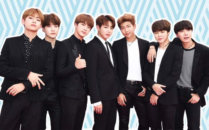 K-Pop Group BTS on The 25 most Influential People List with the US president Donald Trump, J.K Rowling,