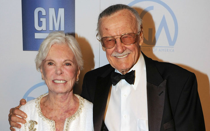 Marvel's Legend Stan Lee's Wife Joan Lee Dies at 93