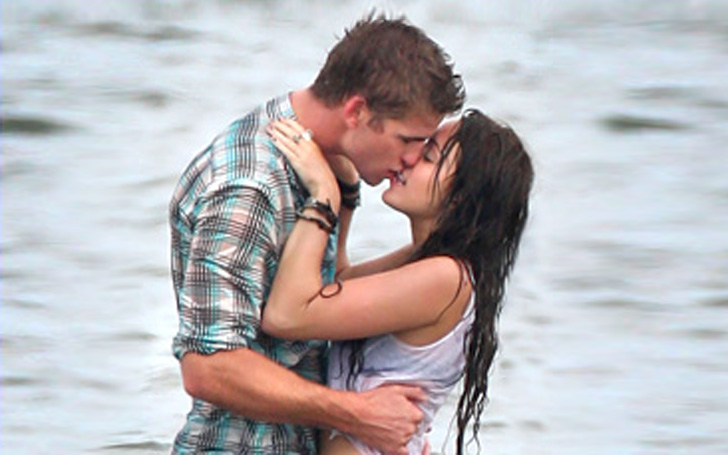 Miley Cyrus Shares Pictures of First Kiss with Liam Hemsworth