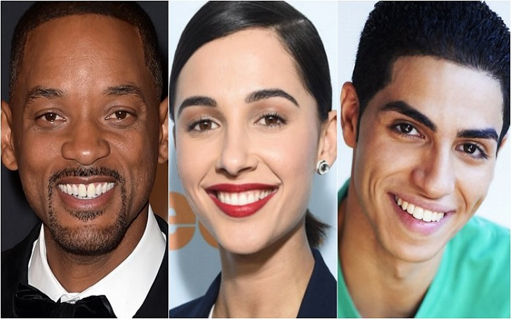 Aladdin: Naomi Scott, Will Smith and Mena Massoud Announced As Three Lead Cast Members