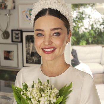 Miranda Kerr's Wedding Dress: Inspired By Grace Kelly's Iconic Dior Haute Couture Gown