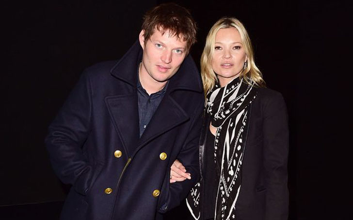Kate Moss Enjoying Romantic Dinner Date with Toyboy Beau Count Nikolai Von Bismarck