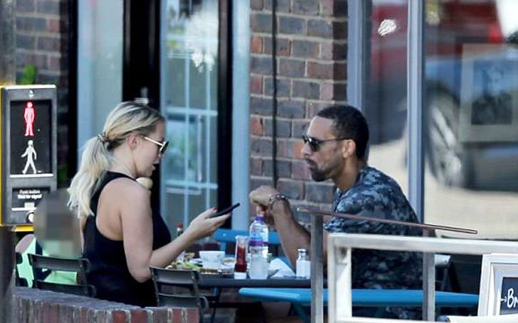 Former Man U Defender Rio Ferdinand's is Dating Kate Wright after Wife Rebecca Ellison's Death Due to Breast Cancer! Complete Details!