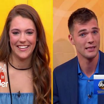 Three Years Long Tinder Couple Meet For The First Time on Good Morning America