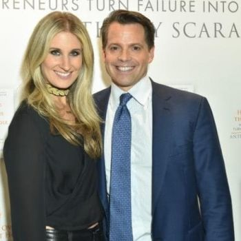 Anthony Scaramucci's wife filed for divorce after he was named White House Communication Director