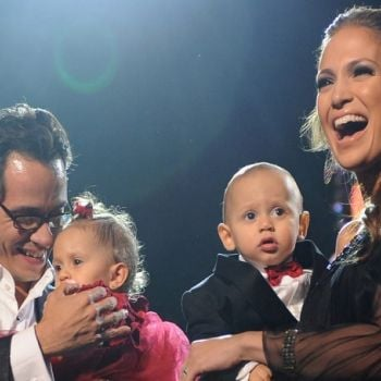 Jennifer Lopez Pays Tribute To Marc Anthony's Kids By Posting Sweet Photo Of Him With His Kids
