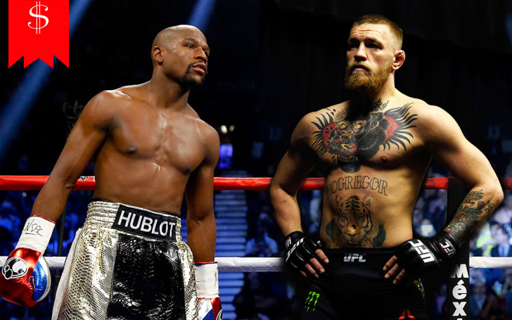 Compare Conor McGregor & Floyd Mayweather 's Net worth in 2017-Details About Their Cars, Jets, Houses