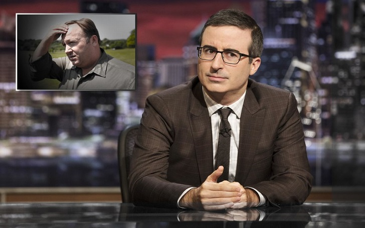 John Oliver Grilled Alex Jones On Last Week Tonight, Major 5 Points
