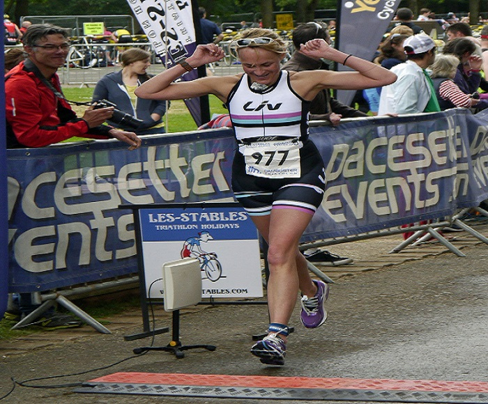 BBC Breakfast Presenter Louise Minchin Wins Women's Triathlon