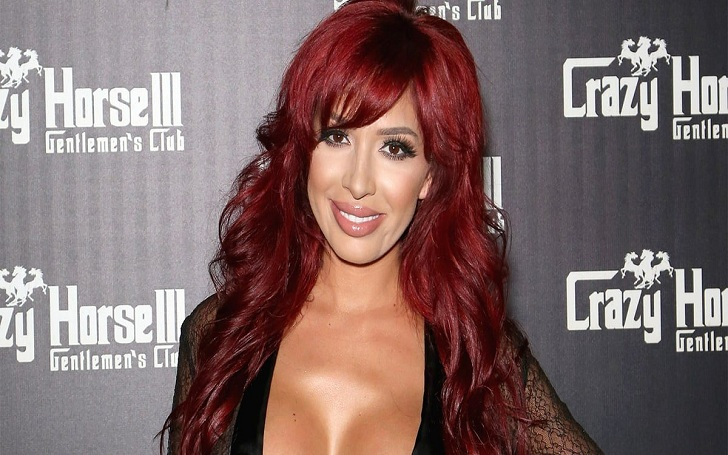 Farrah Abraham Exposes her Surgically Enhanced Assets in Sheer Jumpsuit in Las Vegas. See Photos