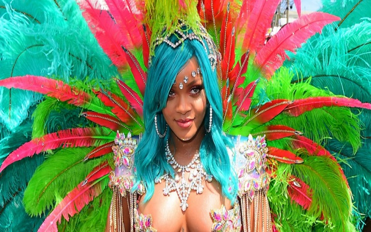Rihanna's Crop Over Costume Slays Social Media And This Might Just Be Her Best Outfit Yet