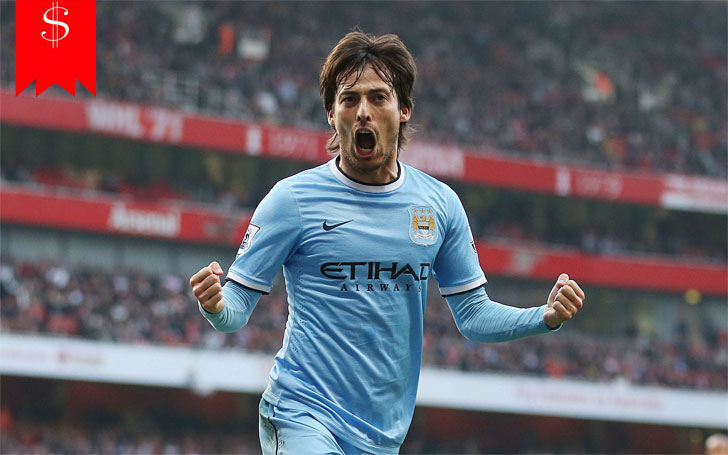 How Much is David Silva's Net worth? Know about his Salary,Car, House, Career and Awards