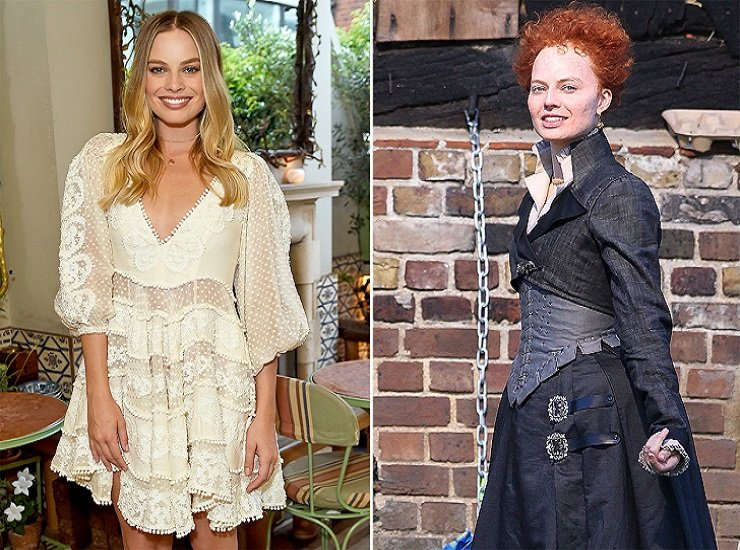 Margot Robbie Is Totally Unrecognizable as Queen Elizabeth I for her New Role in Mary Queen of Scots