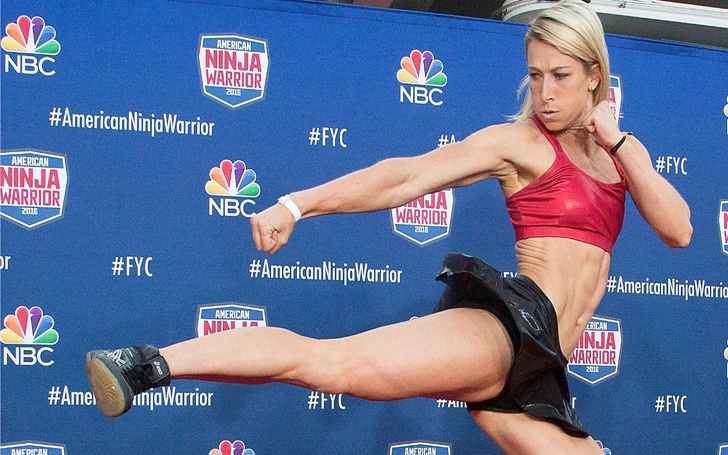 A Sneak Preview of Jessie Graff, Tackling the Finals Obstacles of American Ninja Warrior