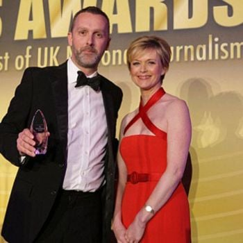 ITV's Julie Etchingham's  Married Life With her Husband Nick Gardner-Details About Their Children, Family and Holiday Routine!