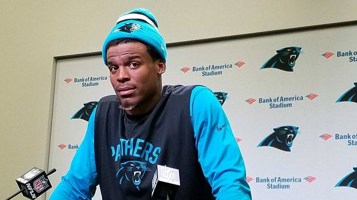 Carolina Panther Quarterback Cam Newton Slams 'The Observer' Reporter With A Sexist Comment