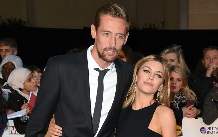 Model Abbey Clancy Flaunts Increasing Baby Bump In A Black Bikini; Said It Would Be Her Last Baby