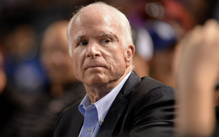 Senator John McCain Spoke Against 'Spurious Nationalism' During Acceptance Speech In Philadelphia