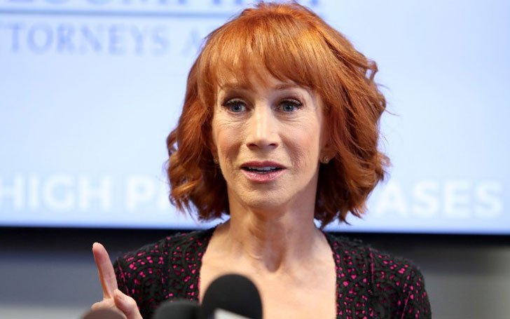 Kathy Griffin Accuses Harvey Levin and Andy Cohen Of Offering Her Drugs