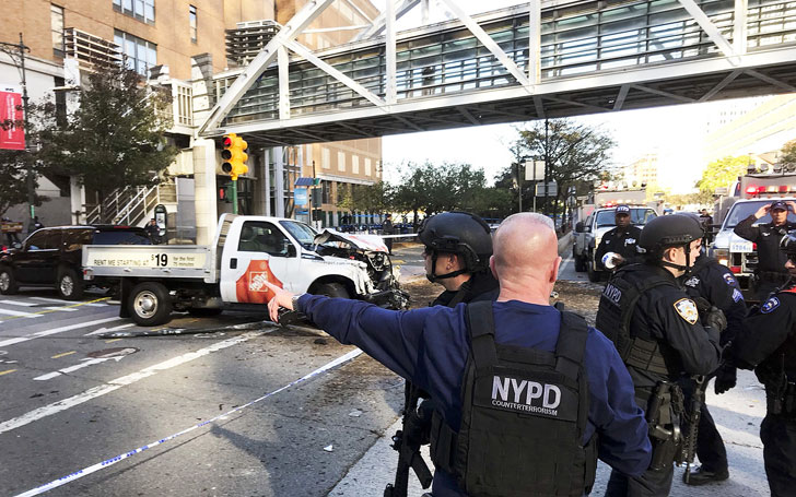 Truck Attacks Innocent People In Manhattan: Eight Killed And Eleven Injured