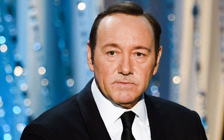Kevin Spacey Spotted With Model Of Half Age Just A Day Before Receiving Academy Award