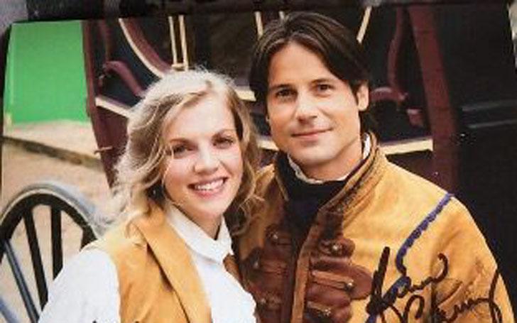 Kara Killmer with handsome, Husband  Andrew Cheney