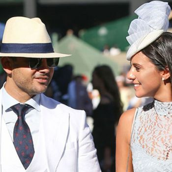 Lucy Mecklenburgh And Boyfriend Ryan Thomas Couldn't Resist From Kissing At Melbourne Races