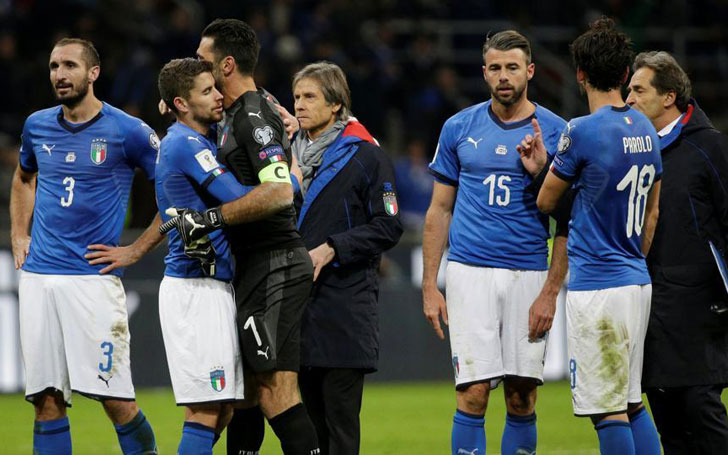 Four Times World Champion Italy Fails To Make Spot In Russia; Buffon Announces Retirement