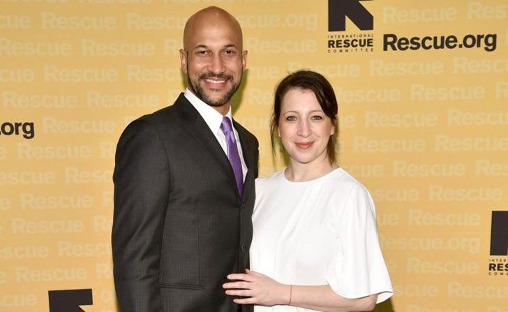 comedian keegan michael key engaged to girlfriend elisa pugliese. Black Bedroom Furniture Sets. Home Design Ideas