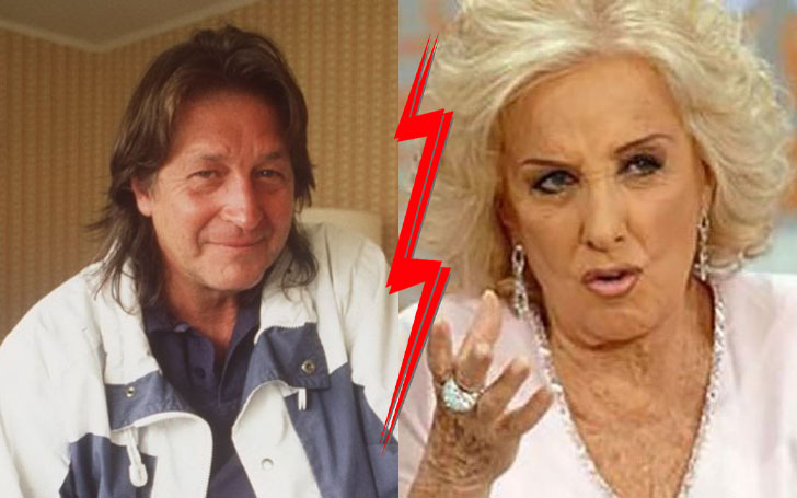 George and Mirtha Jung divorce after seven years of marriage
