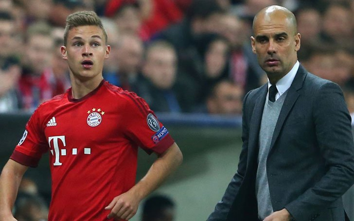 Premiere League Leader Manchester City Increasing Talks With Bayern Munich On Joshua Kimmich