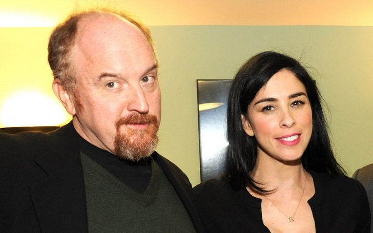 Louis C.k. and ex-Sarah Silverman